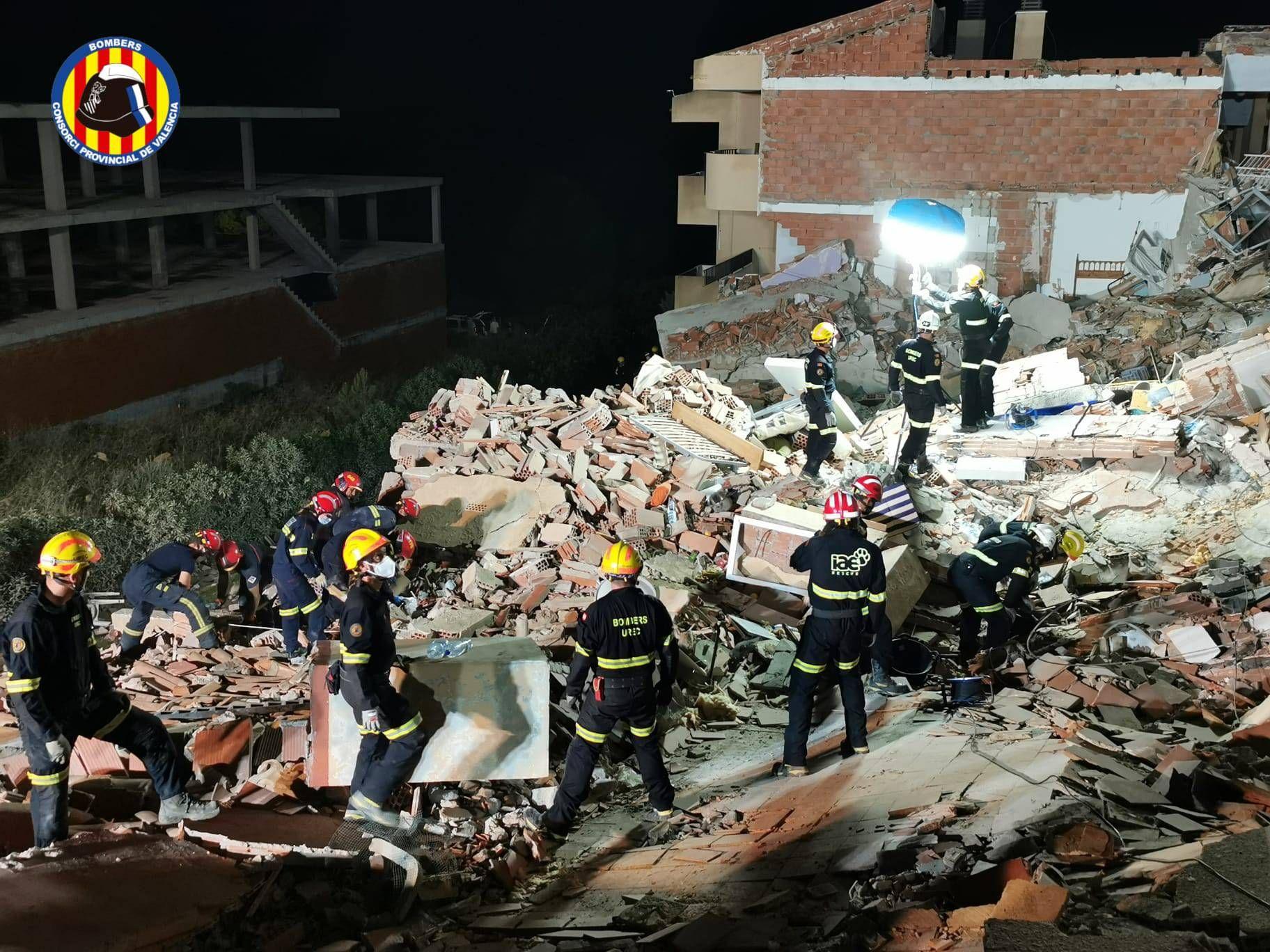 Tragedia en Peñíscola: El derrumbe de un edificio deja un menor fallecido