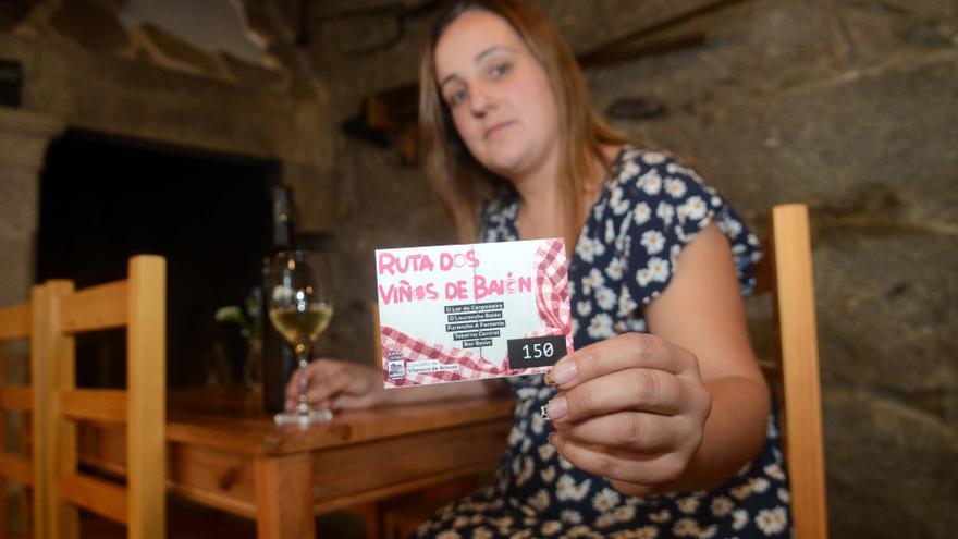 En Baión el vino se toma de ruta