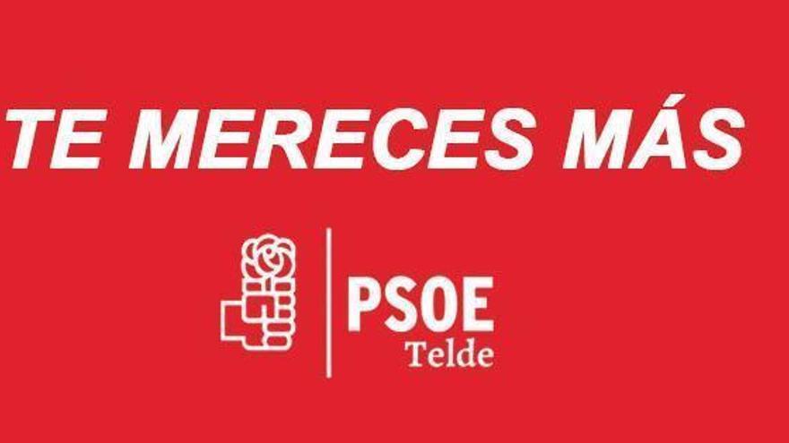 'Te mereces más', el eslogan electoral del PSOE en Telde