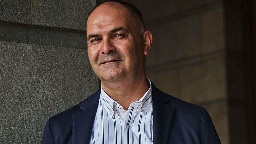 Aniano Cabrera, gerente del club canarista.
