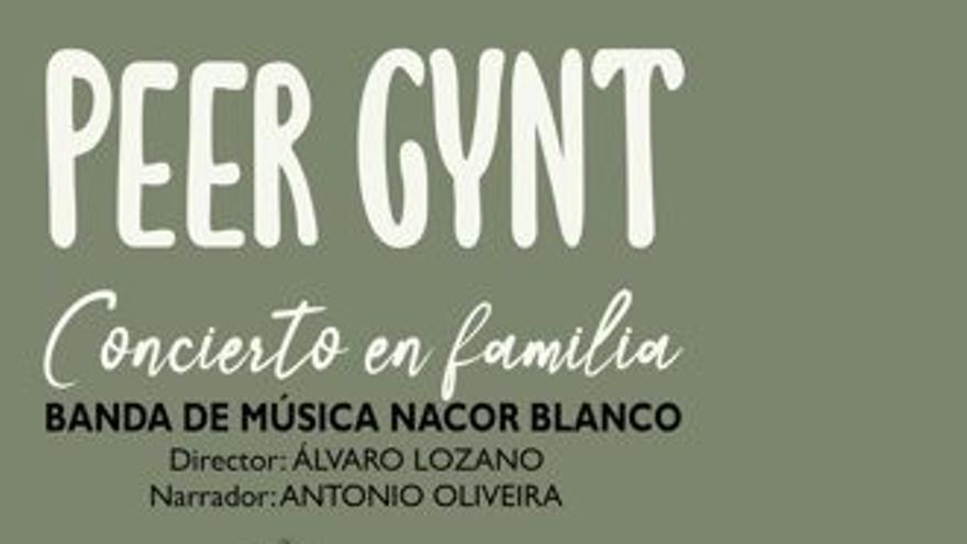 Peer Gynt concierto en familia