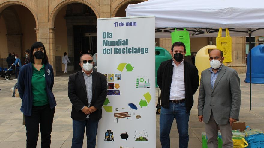 Castelló continúa mejorando sus cifras en reciclaje