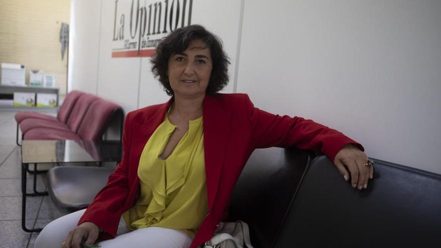 María Cruz Manrique Díaz, consultora en lactancia.