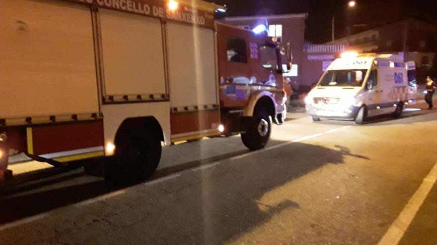 Atropellado un peatón en A Vichona, Sanxenxo