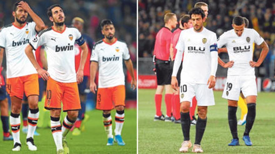 Las cábalas del Valencia CF en Champions