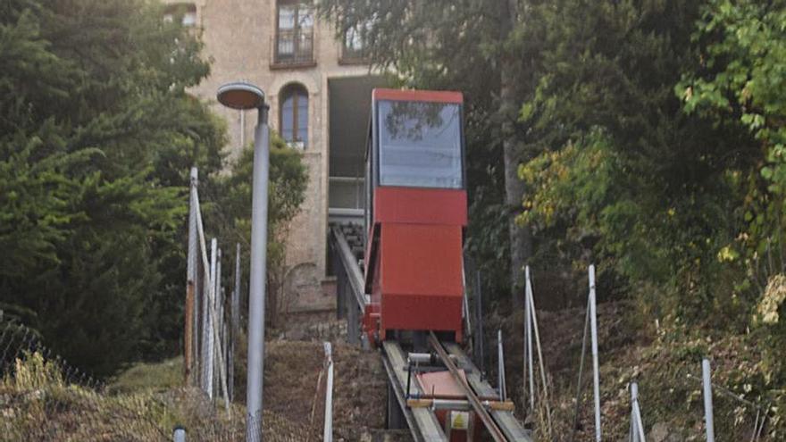 El govern de Berga atribueix l'aturada de l'ascensor de Queralt al cas Inberga Tur