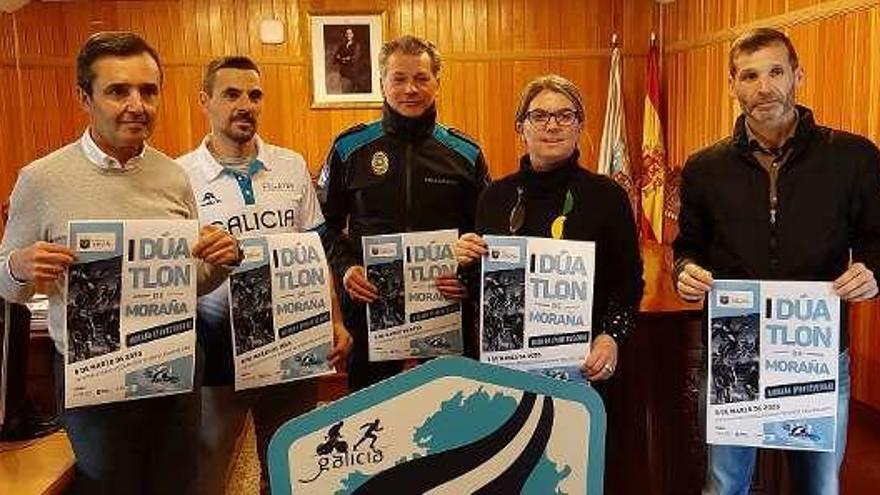 Más de 160 participantes en el I Duatlón de Moraña