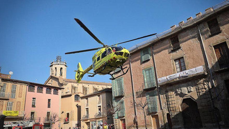Quatre dels ferits en l'explosió de la Festa del Pi de Centelles estan molt greus