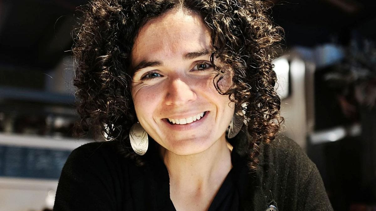 La poeta Sònia Moya