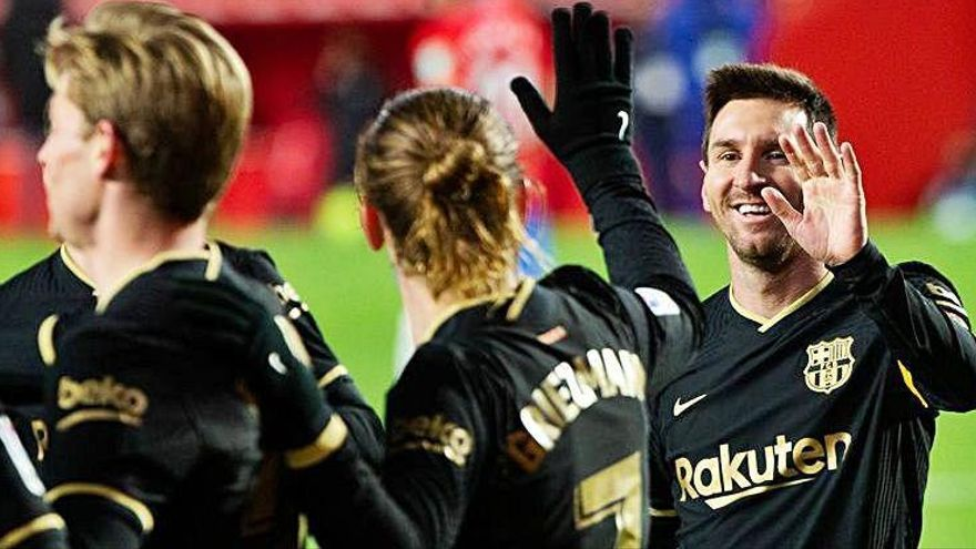 El Barça es consolida en les places de Lliga de Campions