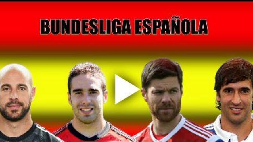 El once histórico español de la Bundesliga