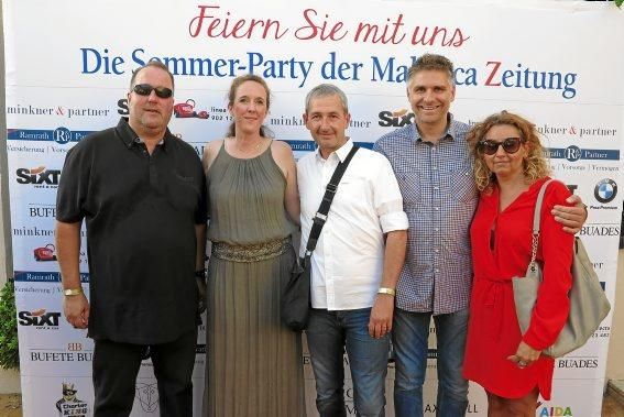 Oliver Girharz, Verena Rossenbach, Michael Herr, Markus und Barbara Liebscher