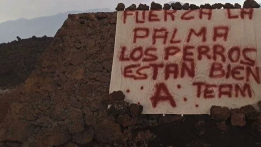 El 'Equipo A' rescata a los perros de La Palma