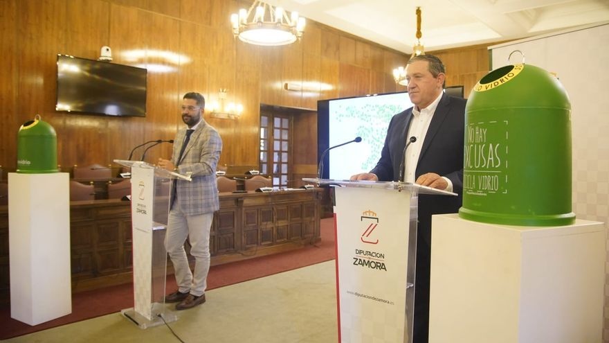 La Diputación de Zamora incorpora la tecnología a los contenedores de vidrio