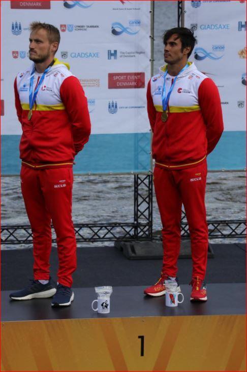 Marcus Cooper Walz revalida su título de campeón del mundo en K2 500