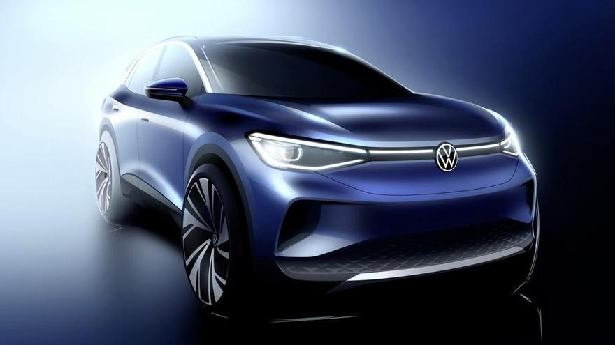 Volkswagen desvela los primeros detalles del diseño del SUV eléctrico ID. 4