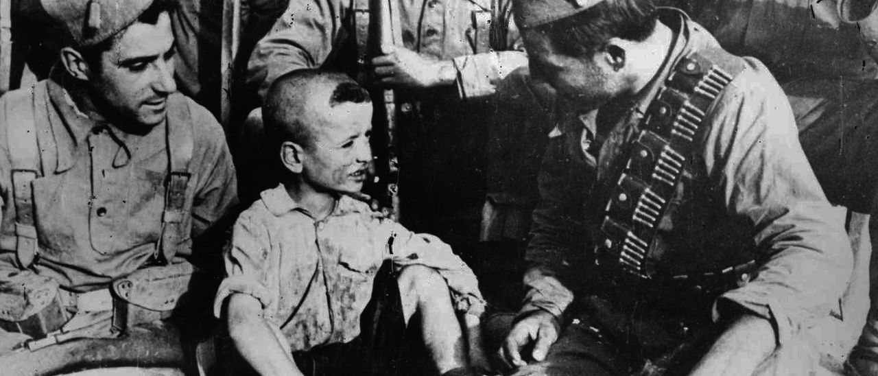 Memoria histórica: la vida real de Gerásimo, el niño de Siétamo