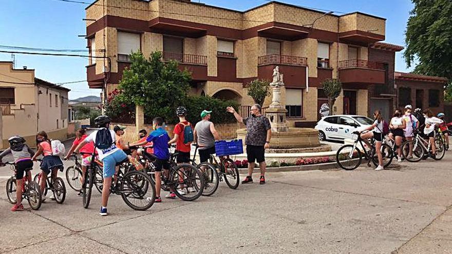 Jornada cicloturista para niños y adultos