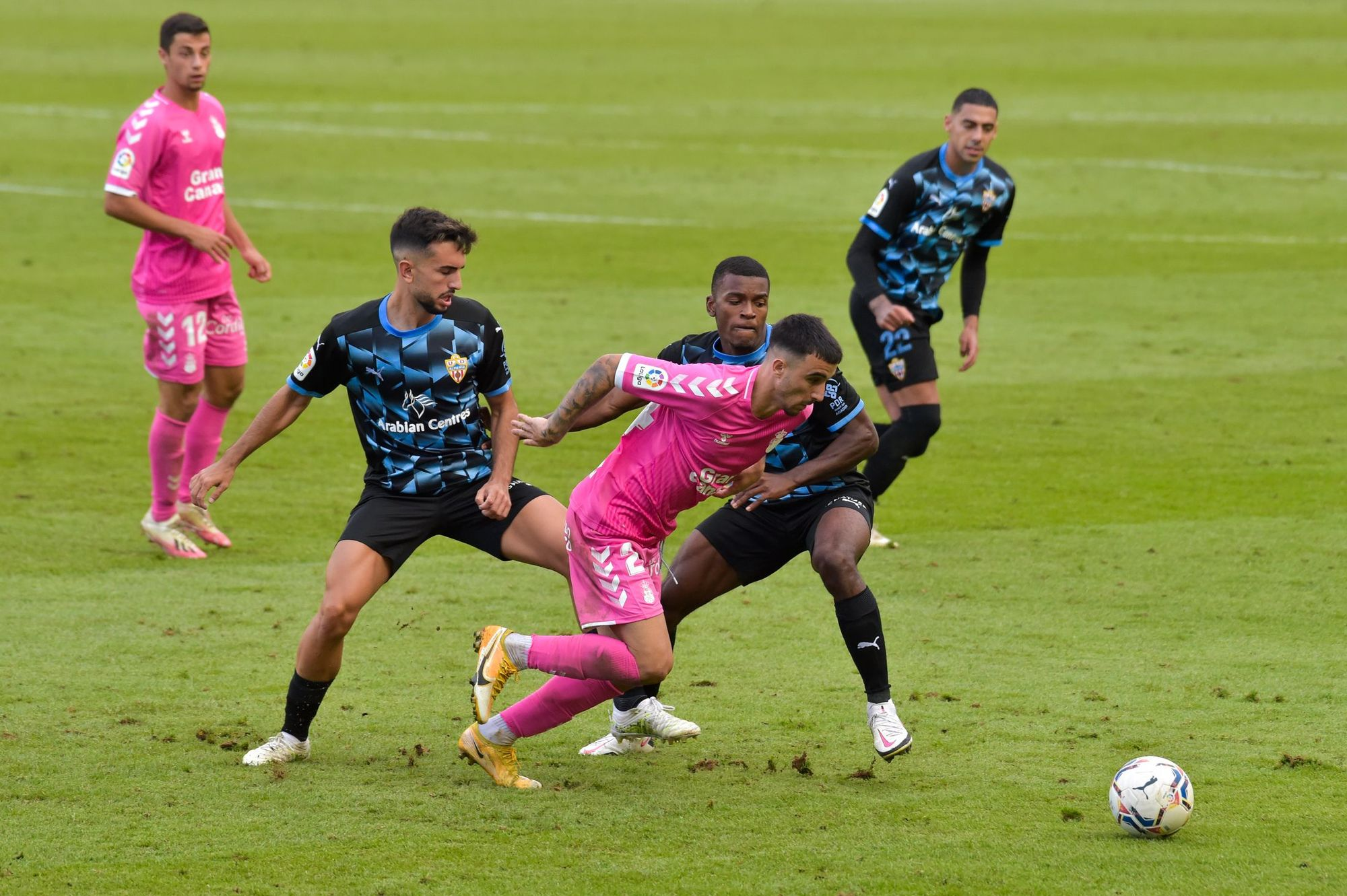 Liga SmartBank - Sexta jornada: UD Las Palmas 2 - 0 UD Almería