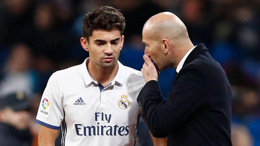 Enzo Zidane entrena con la Unión Deportiva Ibiza