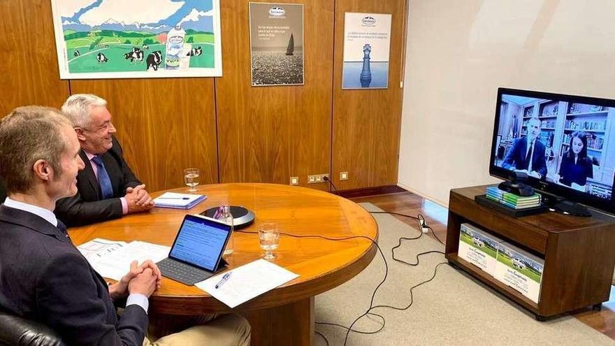 Los Reyes reivindican el carácter esencial del sector lácteo asturiano