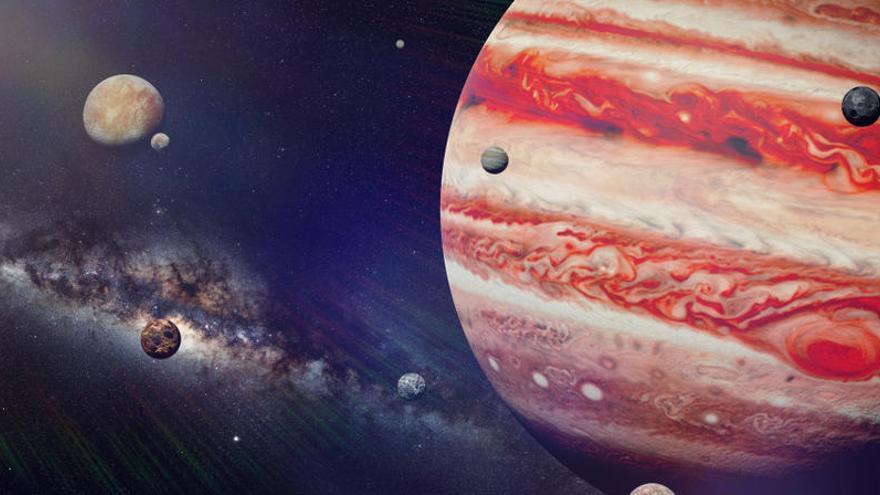 Júpiter es podrà veure aquesta nit a simple vista
