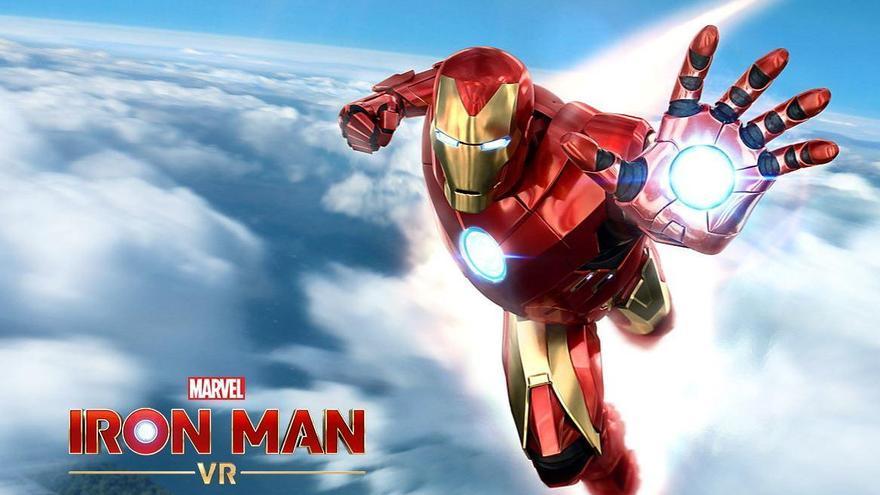 """El nuevo videojuego de """"Iron Man"""" llega en julio."""