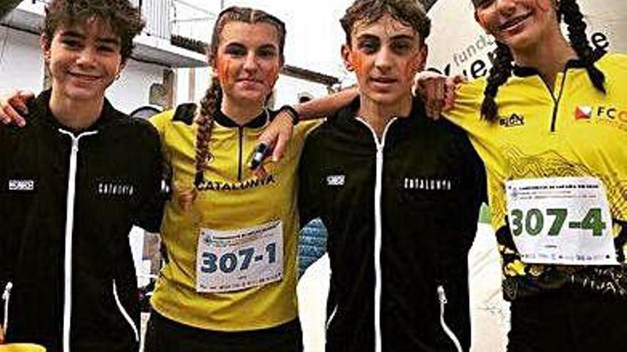 El santfruitosenc Bernat Ledesma és campió estatal cadet per equips