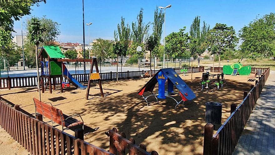 Vilanova fa una millora del parc de la Pilota