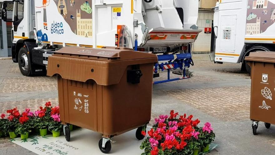 La recogida selectiva de restos orgánicos se aproxima al 70% en Elda