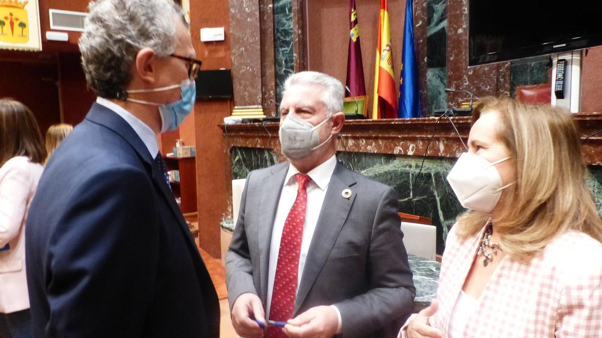 Pedreño presenta sus presupuestos en la Asamblea