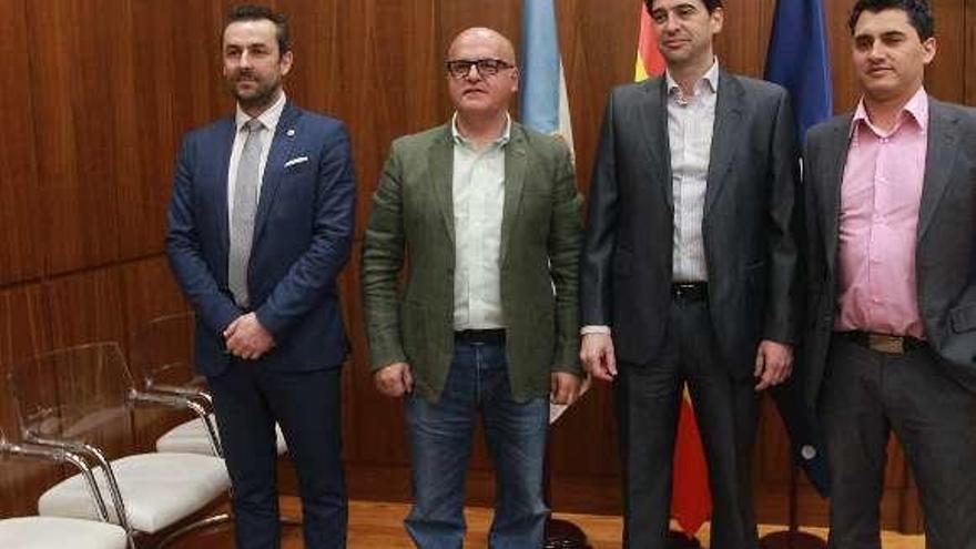 """Baltar: """"Ourense se sitúa a la cabeza de la innovación en turismo inteligente"""""""