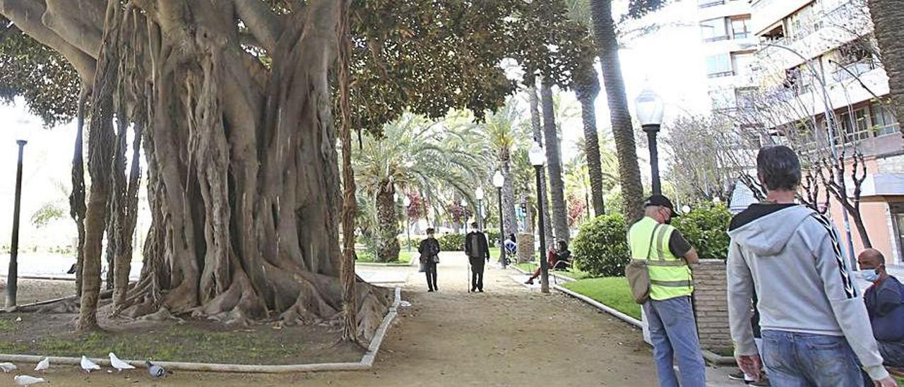 El parque de Canalejas, donde se prevé un nuevo quiosco.