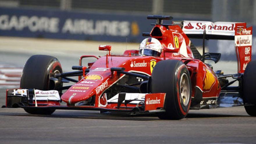 Vettel, primera 'pole' con Ferrari