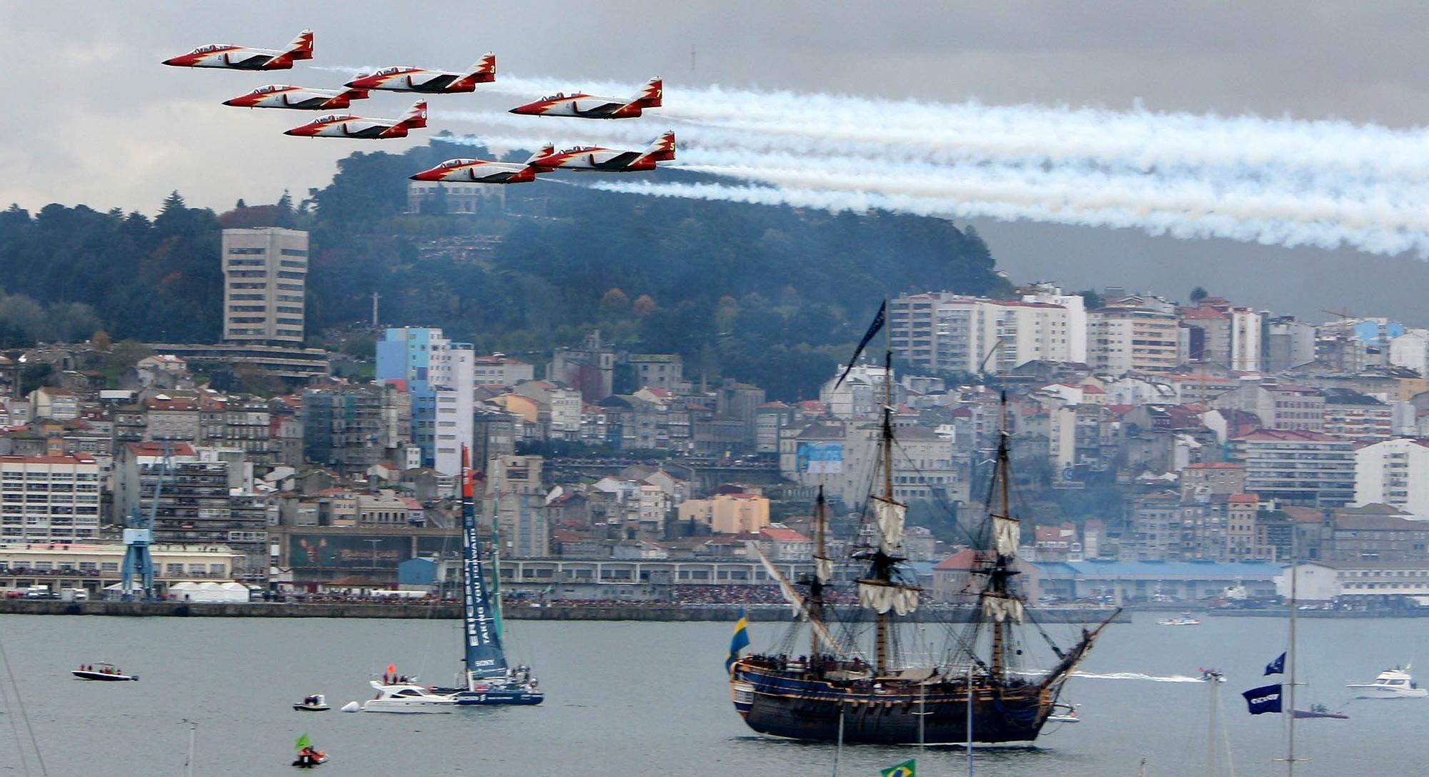 Quince años del adiós de Vigo a la Volvo Ocean Race