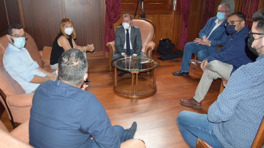 La consejera de Medio Ambiente del Cabildo de Gran Canaria visita Gáldar