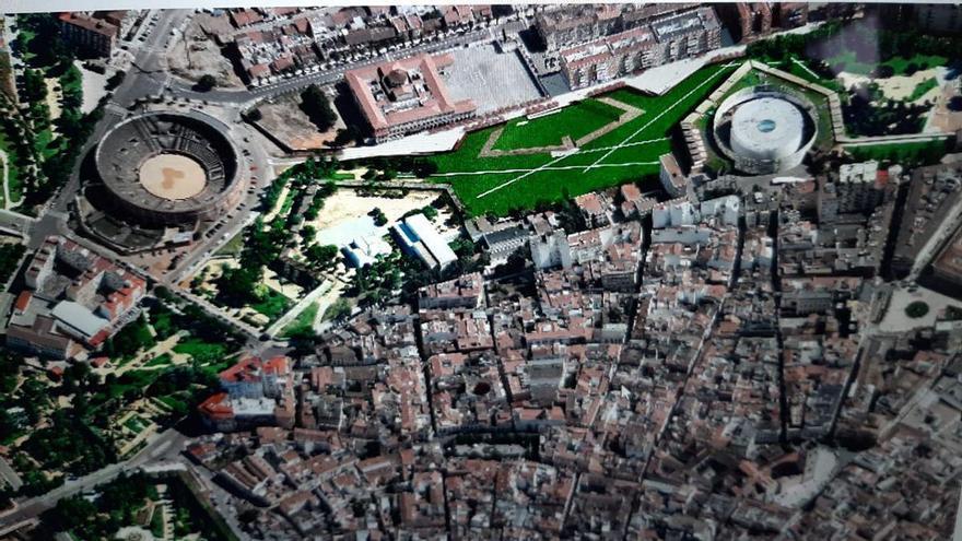 Adjudican provisionalmente la obra del corredor verde de la calle Stadium en Badajoz
