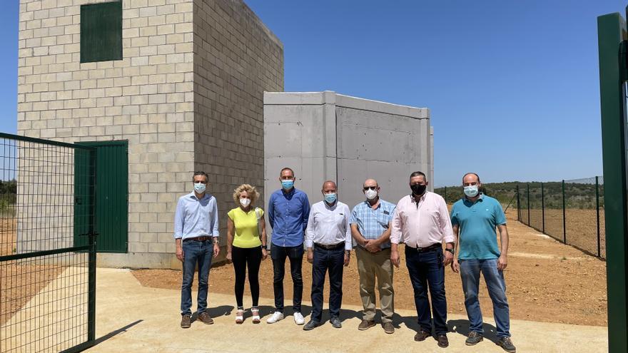 Manganeses de la Polvorosa estrena nuevo depósito de agua