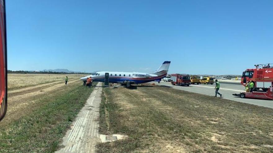 Un percance en el aeropuerto de Alicante obliga a desviar más de una decena de vuelos a Valencia