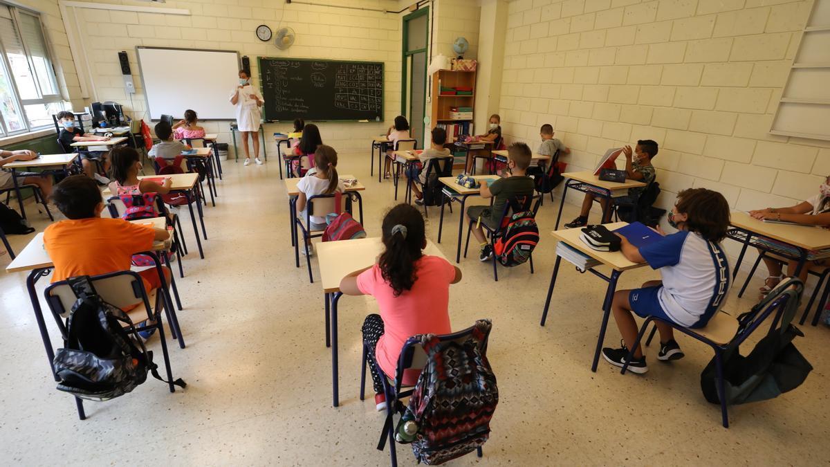 Inicio del curso escolar en Elche