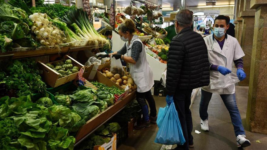 El precio de la cesta de la compra se dispara en Galicia