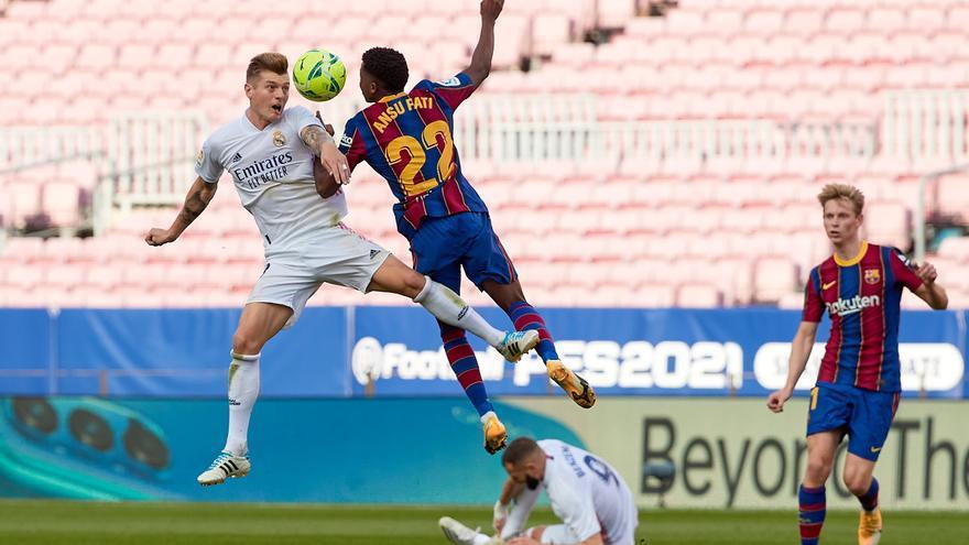 Sigue en directo el Clásico entre Barcelona y Real Madrid
