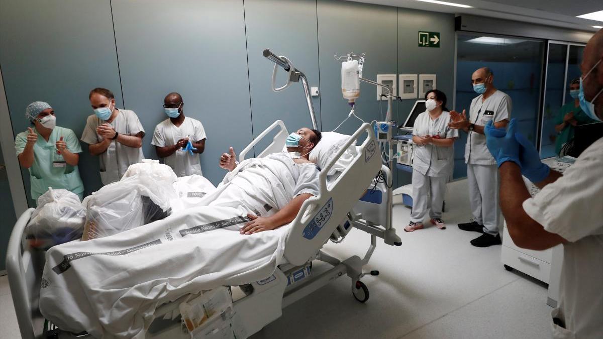 Un paciente con COVID-19