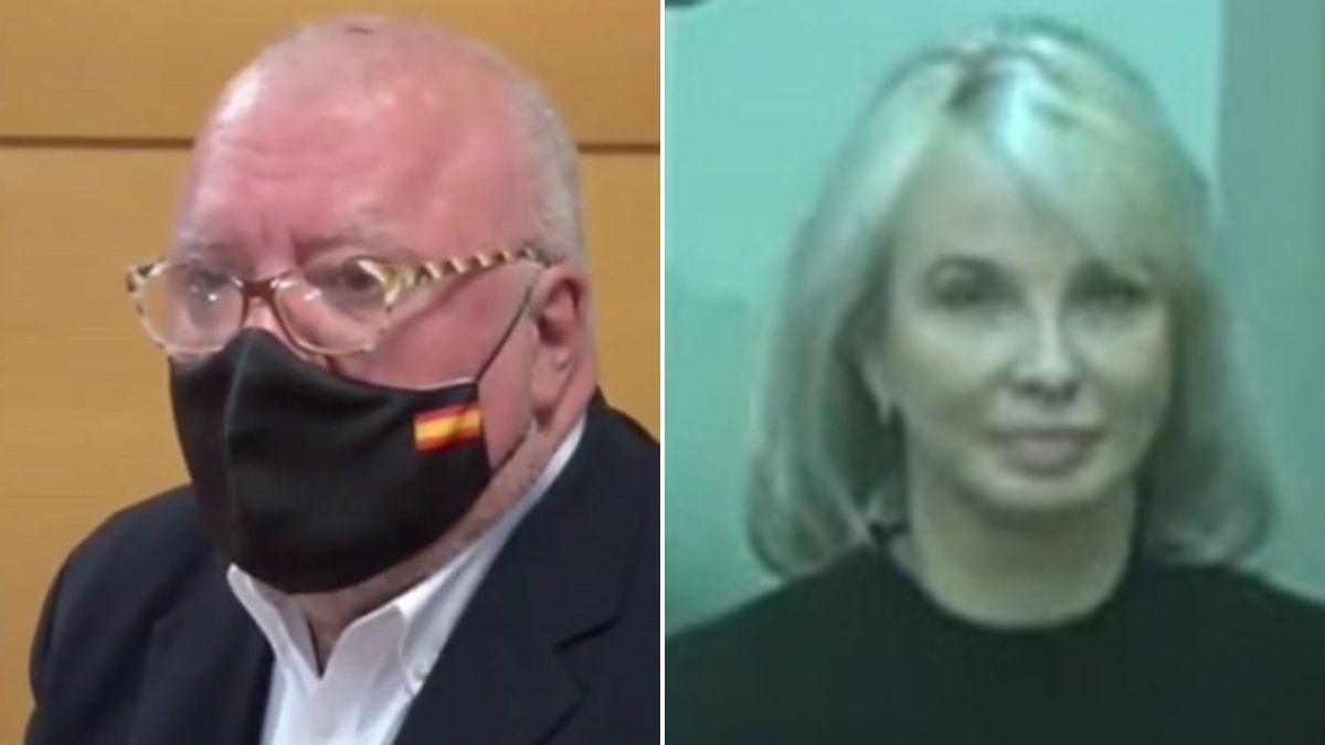 Corinna Larsen refrenda que Sanz Roldán la amenazó por orden de Juan Carlos I