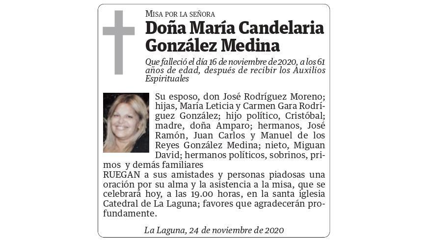 María Candelaria González Medina