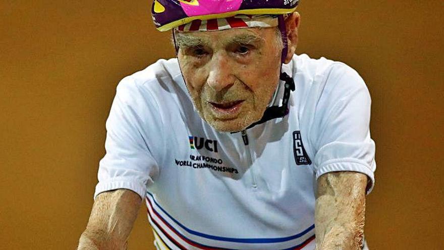 Muere con 109 años el ciclista de los récords centenarios