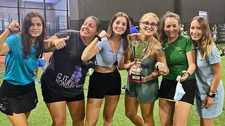Las chicas de Daimús, campeonas