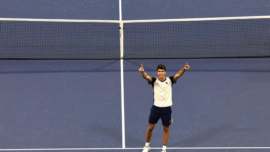 ¿Cuándo juega Carlos Alcaraz los cuartos del US Open?