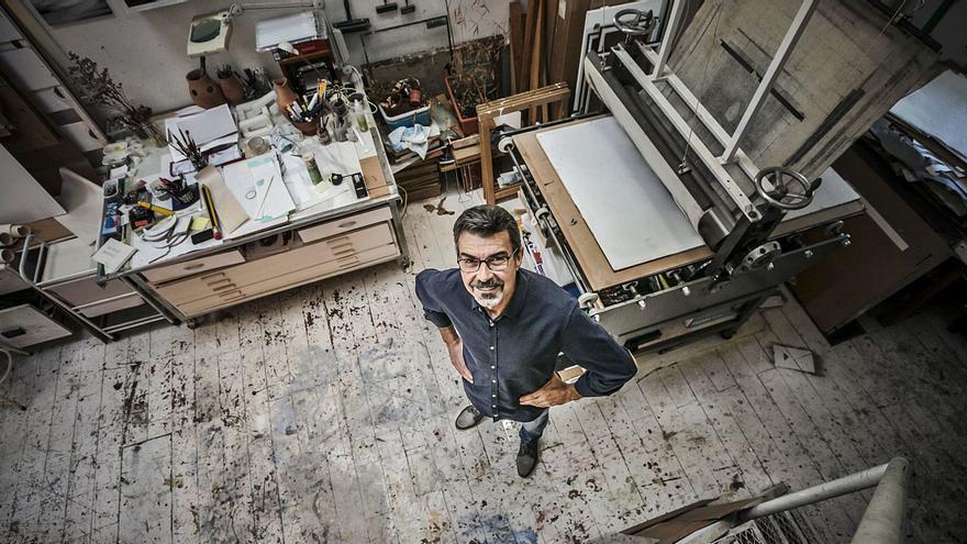 """Ricardo Mojardín: """"Madrid en los años ochenta era un torbellino de ideas para un artista"""""""