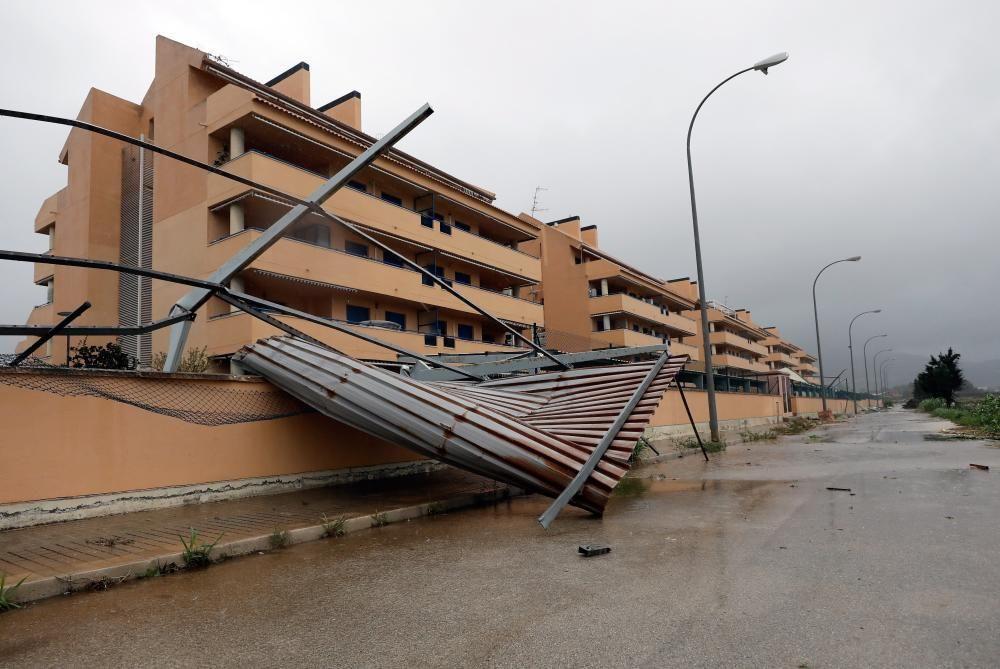 Les imatges de la gota freda al País Valencià